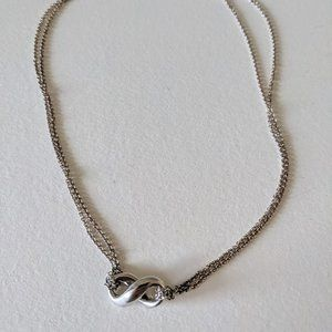 Tiffany Infinity Pendant Sterling Silver